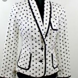 Express women's  black and white blazer